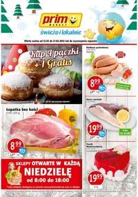 Gazetka promocyjna Prim Market - Świeżo i lokalnie - Prim Market - ważna do 17-02-2021
