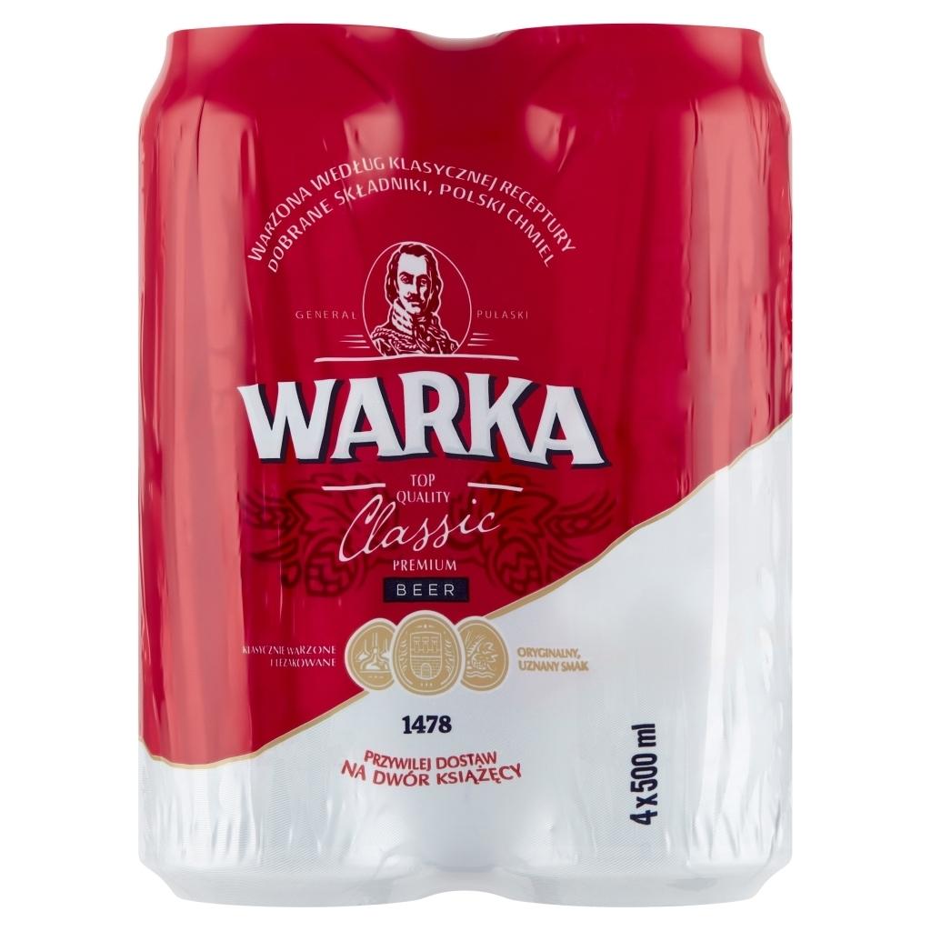 Piwo Warka - 0