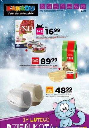 Gazetka promocyjna Kakadu - Zimowa oferta dla zwierzaków w Kakadu!