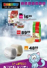 Gazetka promocyjna Kakadu - Zimowa oferta dla zwierzaków w Kakadu! - ważna do 24-02-2021