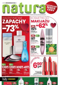 Gazetka promocyjna Drogerie Natura - Drogerie Natura - promocje na perfumy i kosme - ważna do 24-02-2021