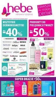 Kosmetyk promocyjnych cenach Hebe!