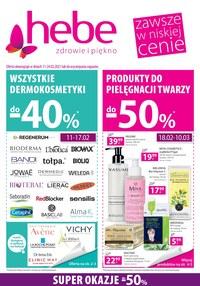 Gazetka promocyjna Hebe - Kosmetyk promocyjnych cenach Hebe! - ważna do 24-02-2021