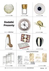 Gazetka promocyjna Dekoria - Kolekcja Wiosna-Lato w Dekoria