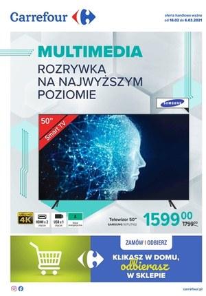 Gazetka promocyjna Carrefour - Multimedia w Carrefour