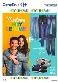 Gazetka promocyjna Carrefour - Modowe hity w Carrefour