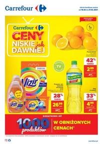 Gazetka promocyjna Carrefour - Niskie ceny w Carrefour - ważna do 27-02-2021