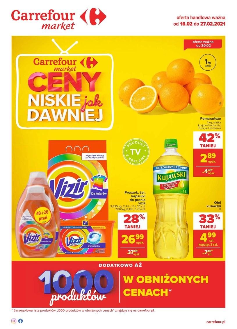 Gazetka promocyjna Carrefour Market - ważna od 16. 02. 2021 do 27. 02. 2021