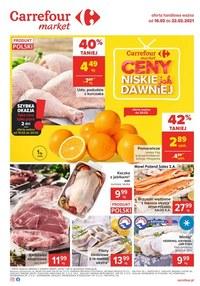Gazetka promocyjna Carrefour Market - Carrefour market - ceny jak dawniej - ważna do 22-02-2021