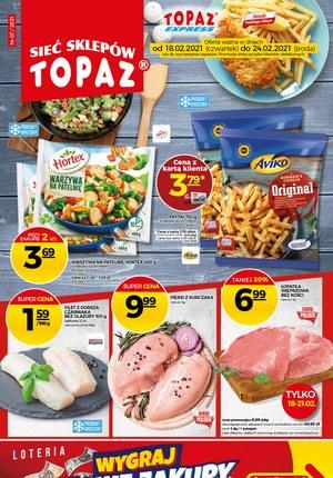Gazetka promocyjna Topaz - Duże promocje w Topaz