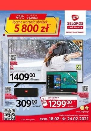 Gazetka promocyjna Selgros Cash&Carry - Oferta przemysłowa w Selgors!