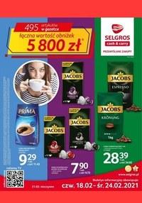 Gazetka promocyjna Selgros Cash&Carry - Oferta spożywcza w Selgros! - ważna do 24-02-2021