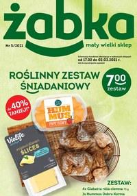 Gazetka promocyjna Żabka - Zestawy śniadaniowe w Żabce! - ważna do 02-03-2021