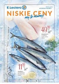 Gazetka promocyjna E.Leclerc - Niskie ceny w E.Leclerc Ursynów