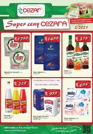 Gazetka promocyjna Delikatesy CEZAR - Delikatesy Cezar - super ceny
