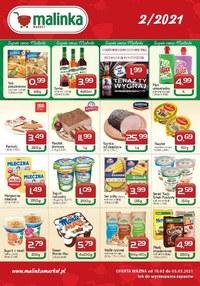 Gazetka promocyjna MALINKA Market - Oferta handlowa Malinka Market - ważna do 03-03-2021