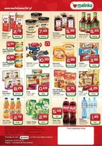 Gazetka promocyjna MALINKA Market - Oferta handlowa Malinka Market