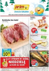 Gazetka promocyjna Prim Market - Świeżo i tanio w Prim Market!  - ważna do 24-02-2021