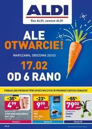 ALDI - nowe otwarcie w Warszawie