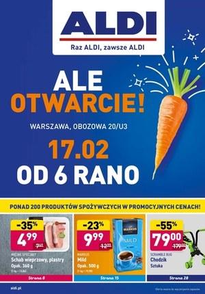 Gazetka promocyjna Aldi - ALDI - nowe otwarcie w Warszawie