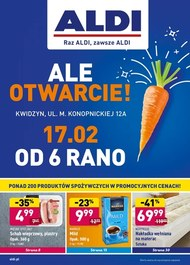ALDI - nowe otwarcie w Kwidzyniu