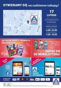 Gazetka promocyjna Aldi - ALDI - nowe otwarcie w Kwidzyniu