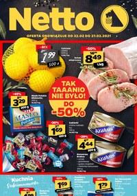 Gazetka promocyjna Netto - Promocje w Netto