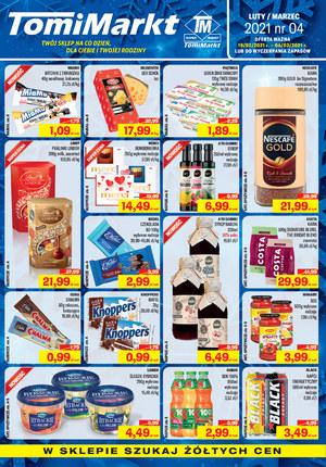 Gazetka promocyjna TomiMarkt - Oferta promocyjna TomiMarkt