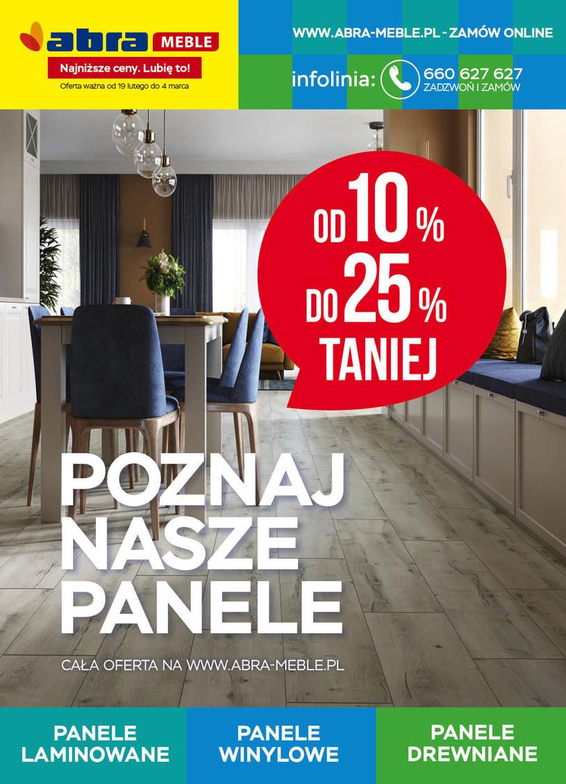 Gazetka promocyjna Abra - ważna od 19. 02. 2021 do 04. 03. 2021
