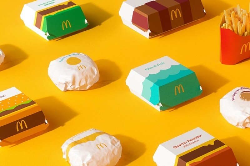nowe opakowania McDonald's