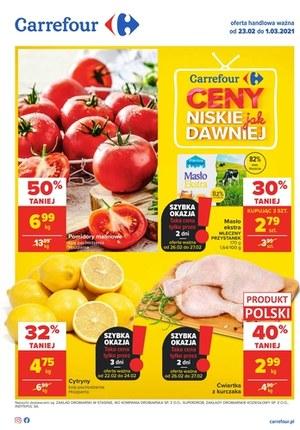 Gazetka promocyjna Carrefour - Ceny jak dawniej - Carrefour
