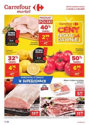 Ceny jak dawniej - Carrefour Market