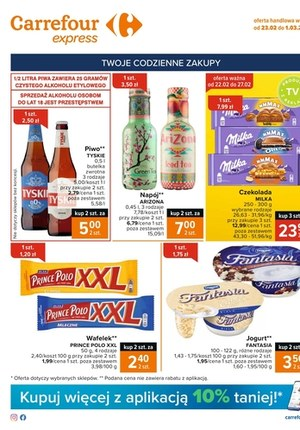 Gazetka promocyjna Carrefour Express - Promocje w Carrefour Express