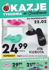 Gazetka promocyjna Biedronka - Kuboty w Biedronce