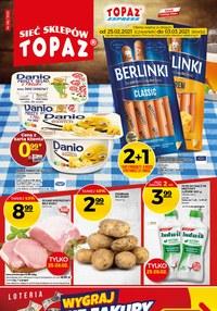 Gazetka promocyjna Topaz - Okazje cenowe w Topaz