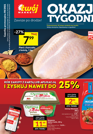 Gazetka promocyjna Twój Market - Mega okazje w Twój Market