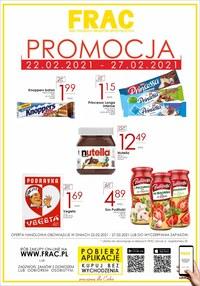 Gazetka promocyjna FRAC - Promocja w Frac