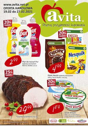 Gazetka promocyjna Avita - Avita - poznaj przyjemność kupowania