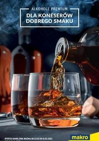 Gazetka promocyjna Makro Cash&Carry - Oferta alkoholowa Makro