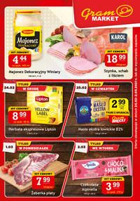 Gazetka promocyjna Gram Market - Szalone promocje w Gram Market!
