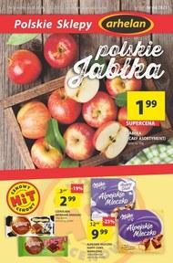 Polskie jabłka w Arhelan