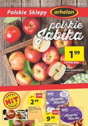 Gazetka promocyjna Arhelan - Polskie jabłka w Arhelan