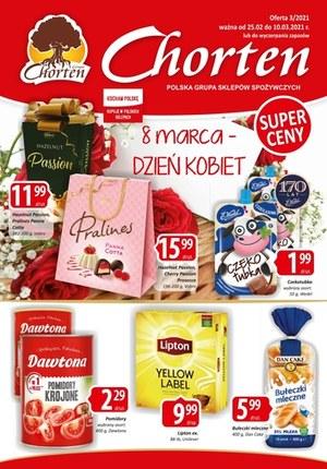 Gazetka promocyjna Chorten - Dzień kobiet w Chorten