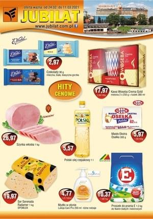 Gazetka promocyjna Jubilat - Hity cenowe w Jubilat