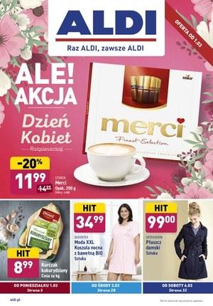 Gazetka promocyjna Aldi - Kolorowy dzień kobiet w Aldi!