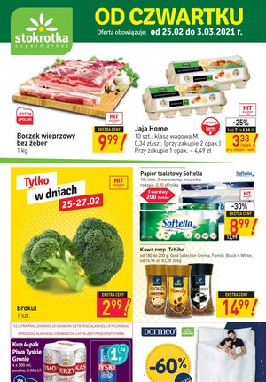 Gazetka promocyjna Stokrotka Supermarket - Najnowsze okazje w Stokrotce!