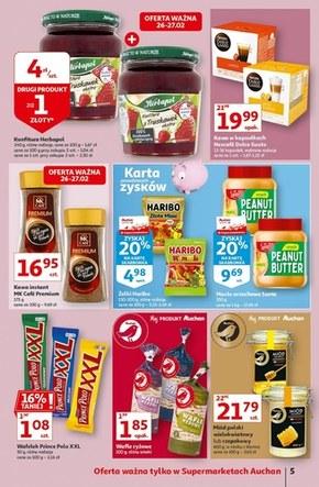 Ceny idą w dół w Auchan!