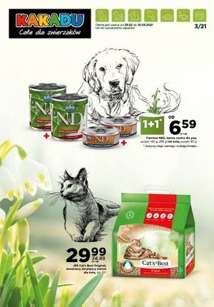 Gazetka promocyjna Kakadu - Wszystko dla zwierzaków w Kakadu!