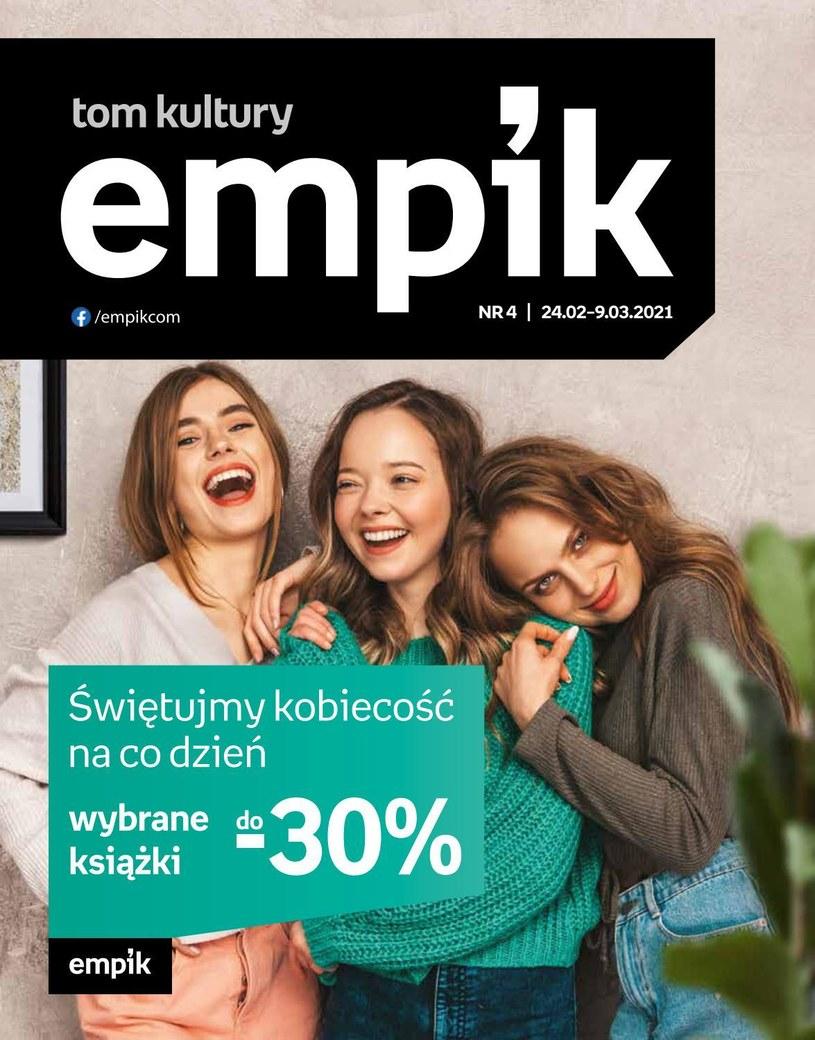 Gazetka promocyjna EMPiK - ważna od 24. 02. 2021 do 09. 03. 2021