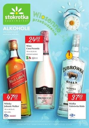 Gazetka promocyjna Stokrotka Supermarket - Katalog alkoholowy Stokrotki!